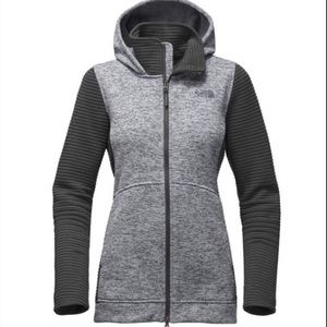 The North Face Womens Indi Hoodie 2 Parka Gray